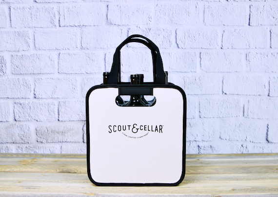 6 Bottle Collapsible Tote