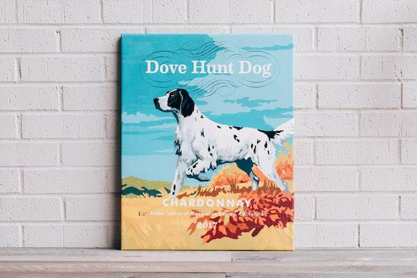 Dove Hunt Done Wrapped Canvas - Chardonnay