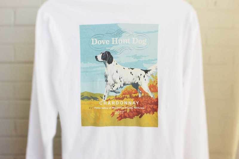 Dove Hunt Dog Long Sleeve Shirt