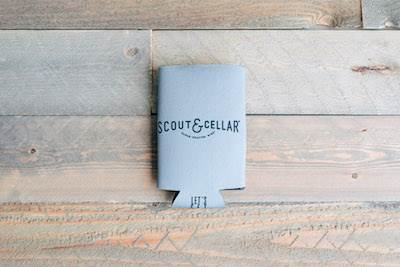 Koozie Large Gray