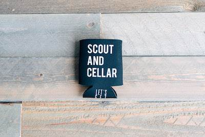 Koozie Small Black