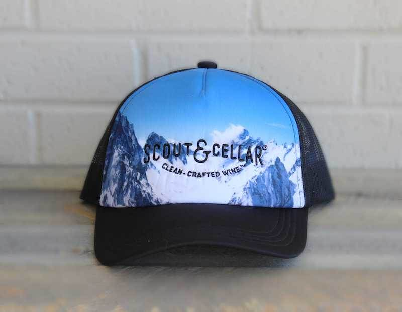 Trucker Hat Snow Cap