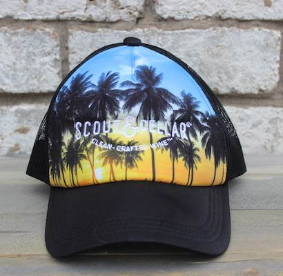 Trucker Hat Palm Tree