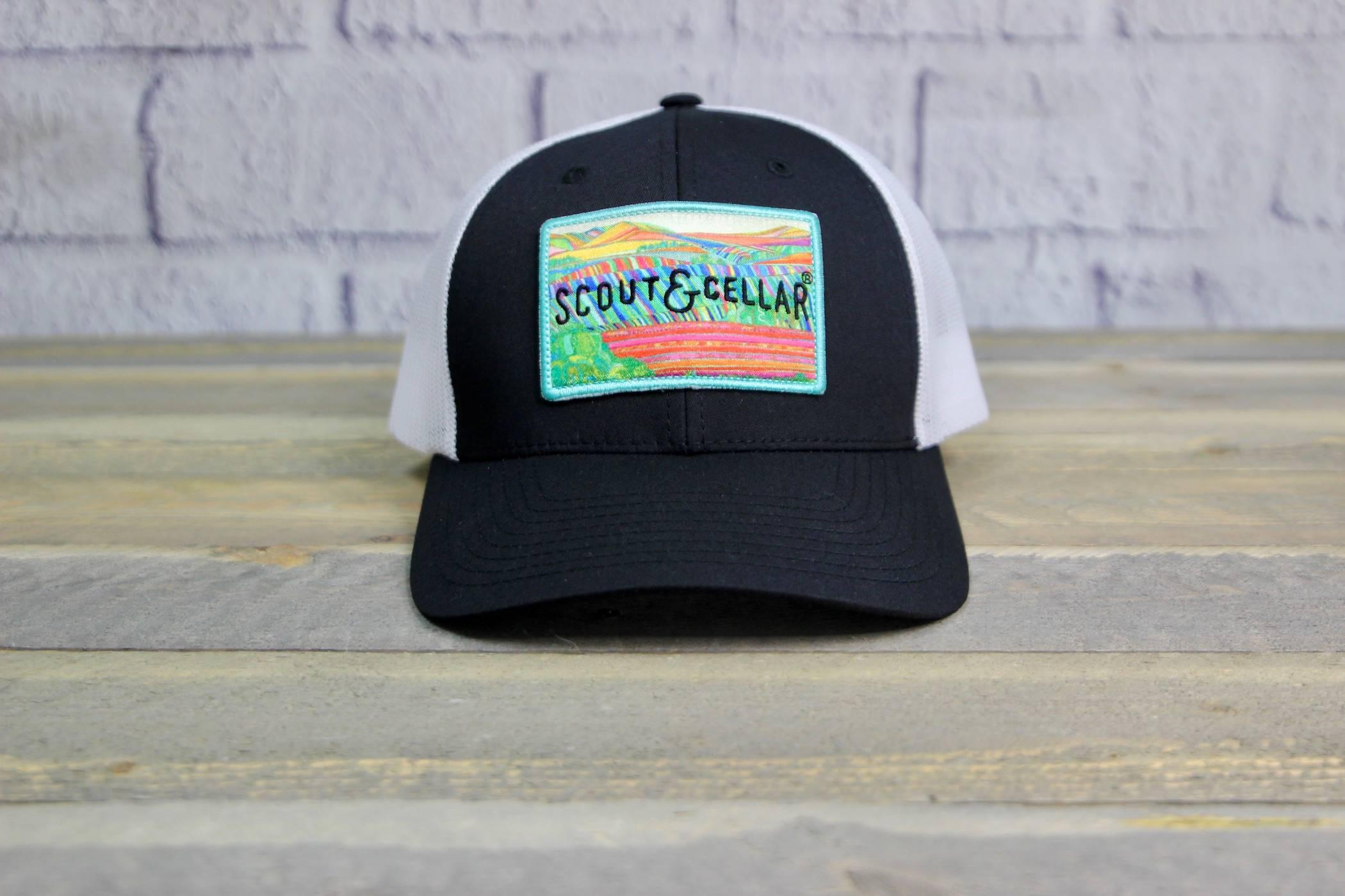 The Vineyard Trucker Hat Patch